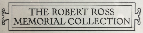 Bookplates of the Robert Ross