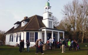 College Buildings Cricket Pavilion