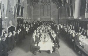 Hall University College Oxford