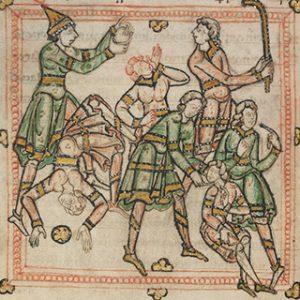 Life of Cuthbert illustrated manuscript