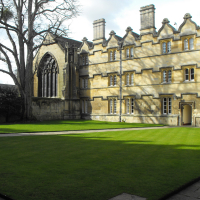 Radcliffe Quad University College Oxford