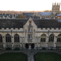 Main Quad University College Oxford