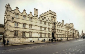 University College Oxford from the High Street