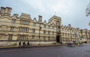 University College Oxford seen from the High Street
