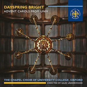 University College Oxford Chapel Choir CD cover