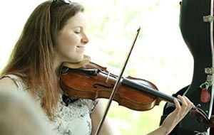 Violinist from the University College Music Society