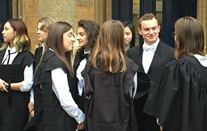 Students at University College Oxford
