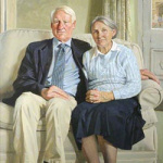 Portrait Lord and Lady Butler Univ Oxford
