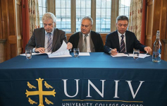 University College Blockchain Research Centre - Signing Ceremony