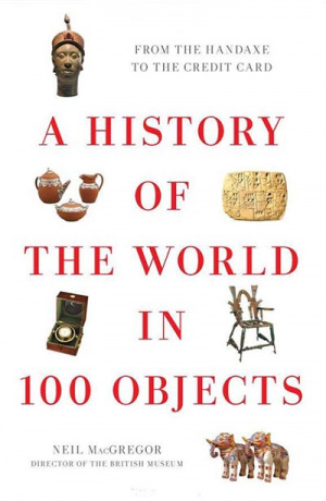 Button link to book review of A History of the World in 100 Objects