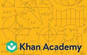 Button link to website Khan Academy