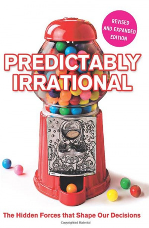 Button link to book review of Predictably Irrational