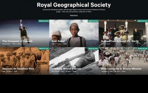 Button link to website RGS Film Archive