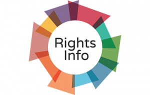 Button link to website RightsInfo