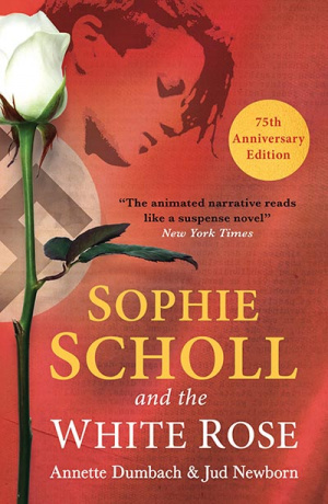 Button link to book review of Sophie Scholl and the White Rose