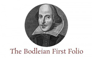 Button link to website The Bodleian First Folio