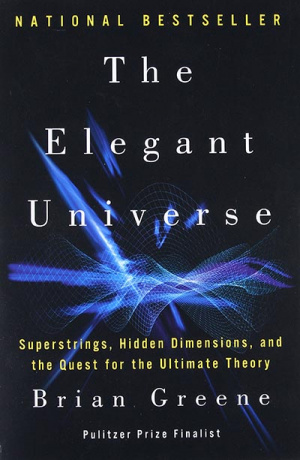 Button link to book review of The Elegant Universe