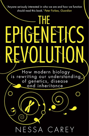 Button link to book review of The Epigenetics Revolution