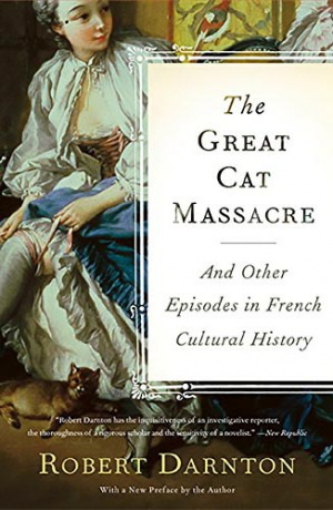 Button link to book review of The Great Cat Massacre