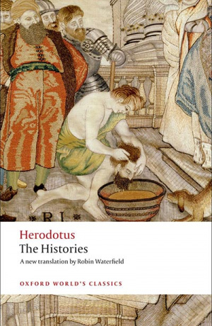 Button link to book review of The Histories