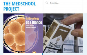 Button link to website The Medschool Project