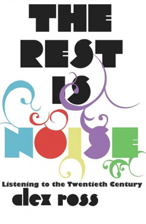 Button link to book review of The Rest is Noise