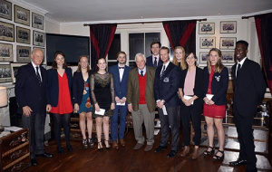 Rachel and Toby awarded Vincent's scholarships