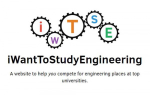 Button link to website iWantToStudyEngineering