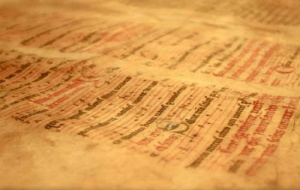 Hawick Missal manuscript fragment