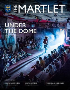 Univ The Martlet Issue 9 cover