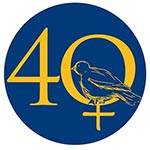 woman at Univ logo