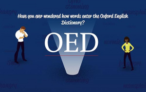 Button link to website How words enter the OED