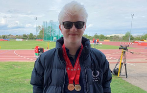 Medal-winning ambulant athlete