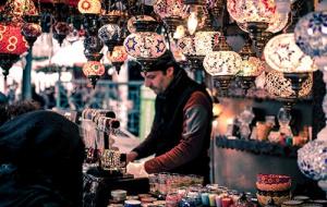 Market trader in Turkey