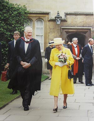 Univ A royal visit remembered 04