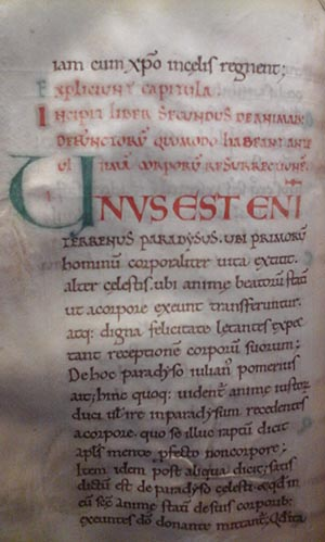 MS 104 Univ's oldest manuscript