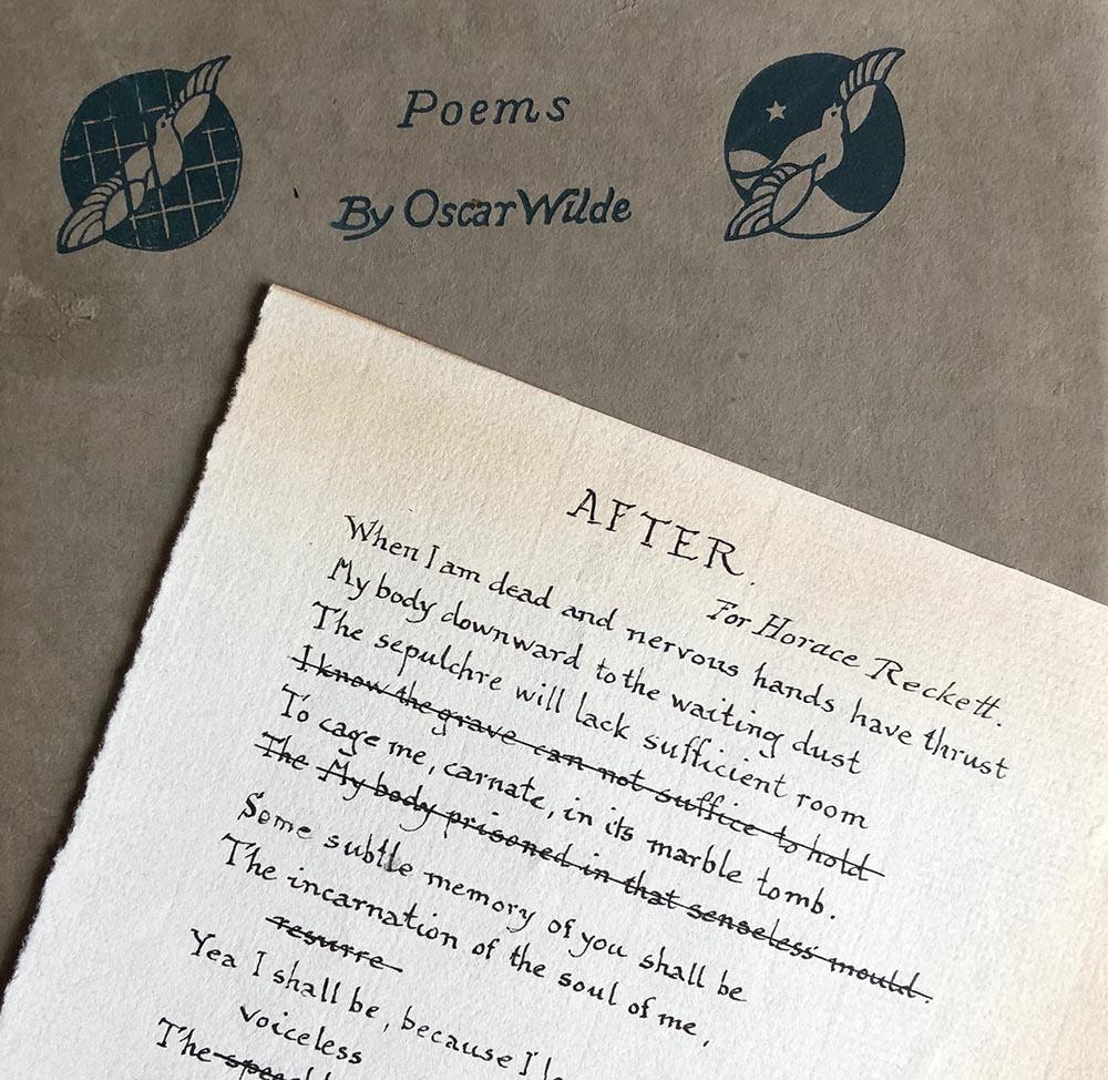 Forging Oscar Wilde In The 1920s