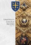 Univ Record cover 2019
