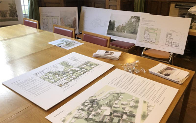 Plans at Redcliffe Maud