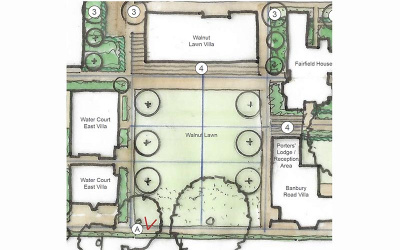 Plans for Walnut Lawn
