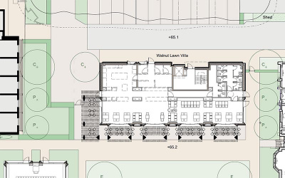 Plans for the cafe