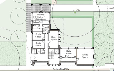 Plans for the research centre