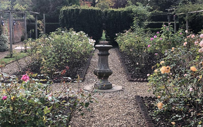 The Sundial in the Rose Garden