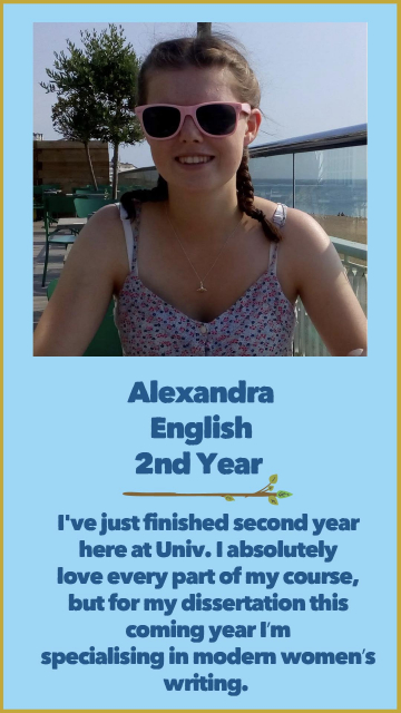 Alexandra - English - 2nd Year