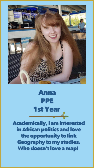 Anna - PPE - 1st Year