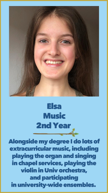Elsa - Music - 2nd Year