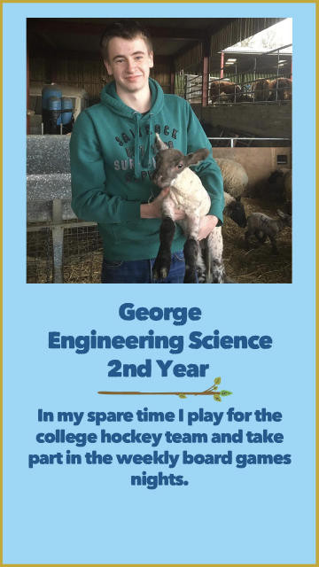 George - Engineering Science - 2nd Year