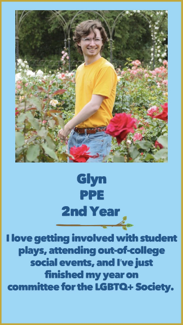 Glyn - PPE - 2nd Year