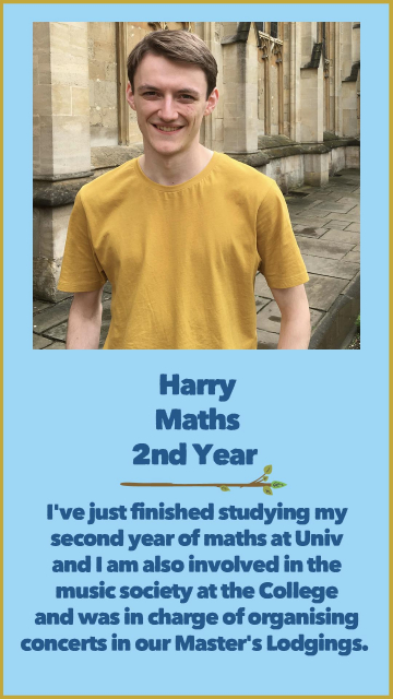Harry - Maths - 2nd Year