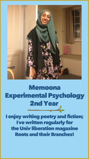 Memoona - Experimental Psychology - 2nd Year